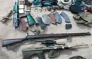 Troops Uncover Massive Weapons Haul