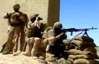 British Military Destroys Taliban Fighters