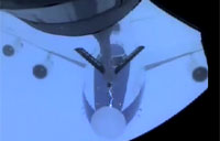 Sparks Fly During Aerial Refueling