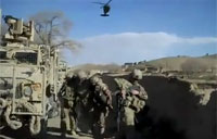 Medevac Swoops in After IED Attack