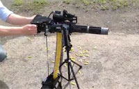 Guy Builds LEGO Minigun M134D