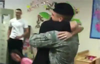 Airman Shocks His Mother After 6 Months