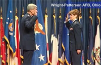 First USAF Female Four-Star General