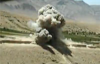 F-16 Takes Out Taliban Fighters