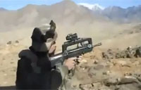 French Troops Fight Taliban On Hilltop