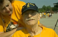 Dying Vet's Final Wish Comes True