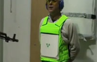 Testing Out Body Armor, Italian Style