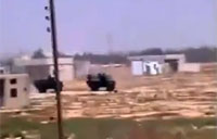 Double IED Attack on 2 Syrian Trucks
