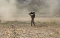 Antitank Missile Locks Up During Firefight