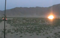 Soldiers Blow Up Rocket and Mortar