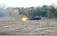 Incredible Mine Clearing Panzer