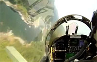 F-18 Low Level Flight Over NorCal