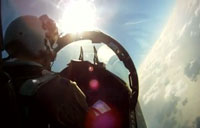 Amazing Video Shot by F-15 Fighter Pilots