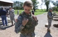 Army Tests New Female Body Armor