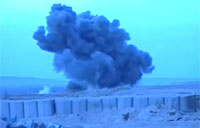 Huge JDAMs Dropped on Taliban Hideout