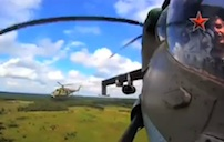 GoPro Cam Mounted on Russian Mi-24