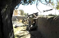 British Army Ambush Taliban Fighters