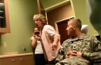 Soldiers Surprise Loved Ones!