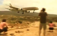 Commercial Pilot Makes Great Landing