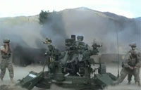 M777 Engages Taliban with Direct Fire