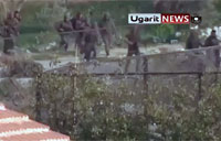Run Away! Syrian Troops Retreat Battle