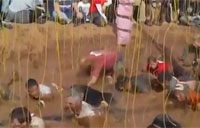 Tough Mudder Electric Shock Therapy