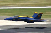 Blue Angels Vapes 'n Wakes Takeoff