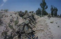 Troops Pinned Down by Taliban Fighters