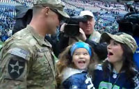 A Seahawks Surprise On Veterans Day!