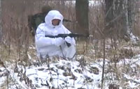 Russian Soldiers Test New Battle Gear