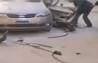 Hamas Chief's Body Pulled from Car