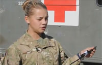 Combat Medical Tech in Afghanistan