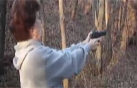 Granny Fires Gun, Reaction Priceless