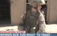 Women Sue Pentagon for Combat Jobs
