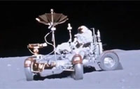 LRV on the Moon - Apollo 16