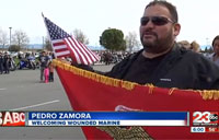 Community Welcomes Home a Hero
