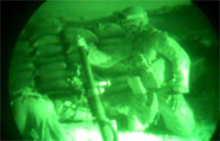 Dropping 60mm Illum in Afghanistan