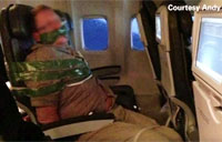Unruly Passenger Gets Duct Taped