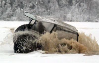Driving on Thin Ice in Russia