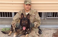Military Dog Handler - Will to Win