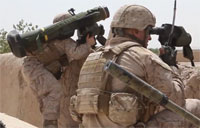 Javelin Launch On Taliban Stronghold