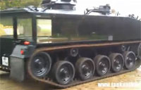 The Military Funeral Tank Hearse
