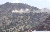 Taliban Rocket Attack, COP Wilderness