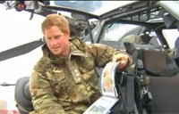 Prince Harry Gives Tour of His Apache