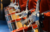 Army Fife and Drum Corps in Action