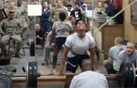 Female Soldier Deadlifts 320lbs!