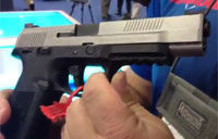 New FNS9 Pistols at Shot Show 2013