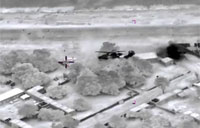 French Air Strikes on Mali Rebels