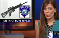 School Buys Military Rifles for Defense