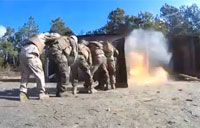 Marines Get Into Breaching Mode